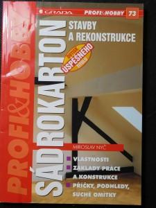 náhled knihy - Sádrokarton : stavby a rekonstrukce