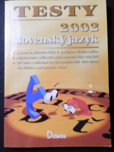 náhled knihy - Slovenský jazyk Testy 2002