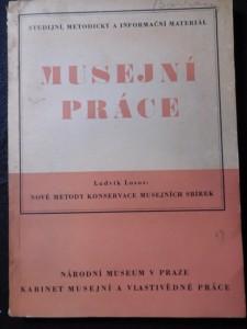 náhled knihy - Musejní práce