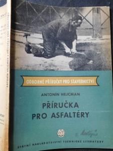 náhled knihy - Příručka pro asfaltéry