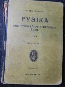 náhled knihy - Fysika pro vyšší třídy středních škol. Díl I