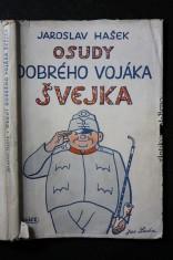 náhled knihy - Osudy dobrého vojáka Švejka za světové války. [První díl, V zázemí]