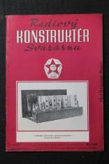 náhled knihy - Radiový konstruktér Svazarmu č. 9, roč. III.