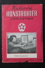 náhled knihy - Radiový konstruktér Svazarmu č. 1, roč. II.