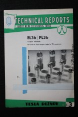 náhled knihy - Technical reports about new electronic tubes E-3