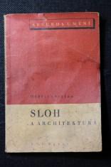 náhled knihy - Sloh a architektura