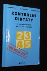 náhled knihy - Kontrolní diktáty a pravopisná cvičení : pro 2.-5. ročník základních škol