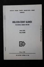 náhled knihy - Anglicko-český slovník programového vybavení osobních počítačů se základním gramatickým přehledem