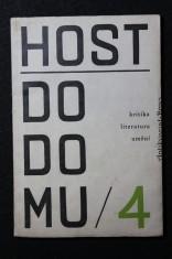 náhled knihy - Host do domu 4. Kritika, literatura, umění