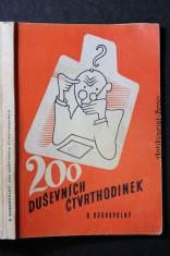 náhled knihy - 200 duševních čtvrthodinek : úlohy duševního sportu