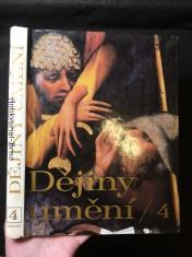 náhled knihy - Dějiny umění, díl 4