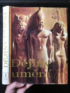 náhled knihy - Dějiny umění 1