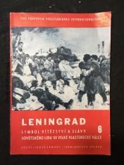 náhled knihy - Leningrad, symbol hrdinství a slávy sovětského lidu ve Velké vlastenecké válce
