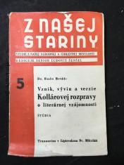 náhled knihy - Vznik, vývin a verzie Kollárovej Rozpravy o literárnej vzájomnosti : štúdia