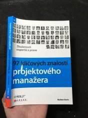 náhled knihy - 97 klíčových znalostí projektového manažera