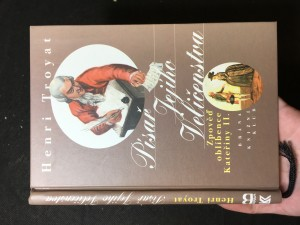 náhled knihy - Písař Jejího Veličenstva : zpověď oblíbence Kateřiny II.
