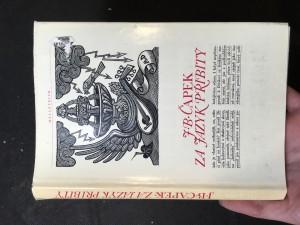 náhled knihy - Za jazyk přibitý