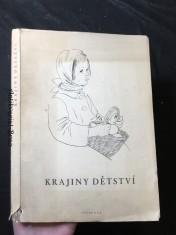 náhled knihy - Krajiny dětství : české básně o dětech