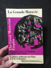 náhled knihy - La Grande Moravie; the Great Moravian Empire
