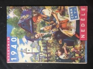 náhled knihy - Národní kalendář katolického lidu 1940 - neděle