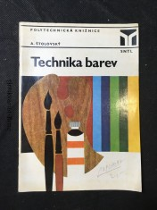 náhled knihy - Technika barev