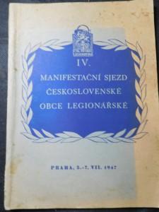 náhled knihy - Památník IV. Manifestačního sjezdu československé obce legionářské