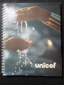 náhled knihy - Agenda-Calendrier Unicef 1983