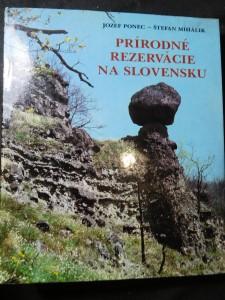 náhled knihy - Prírodné rezervácie na Slovensku