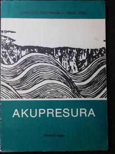 náhled knihy - Akupresura : Met. materiál