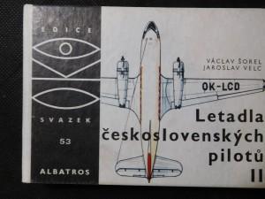 náhled knihy - Letadla československých pilotů II : pro čtenáře od 9 let. 2., Letadla 1918-1979