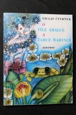 náhled knihy - O víle Amálce a žabce Márince