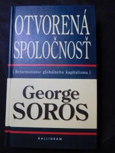 náhled knihy - Otvorená spoločnosť : reformovanie globálneho kapitalizmu