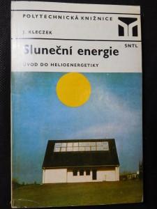 náhled knihy - Sluneční energie - úvod do helioenergetiky