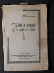 náhled knihy - Výbor z básní J.S. Machara