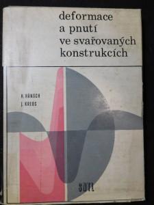 náhled knihy - Deformace a pnutí ve svařovaných konstrukcích