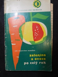 náhled knihy - Zelenina a ovoce po celý rok