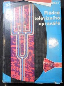 náhled knihy - Rádce televizního opraváře : určeno prac. televizních služeb, učňům, radioamatérům a posl. odb. škol
