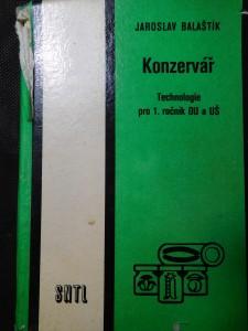 náhled knihy - Konzervář : Technologie pro 1. roč. odb. učilišť a učňovských škol