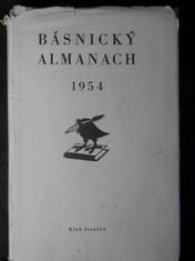 náhled knihy - Básnický almanach 1954