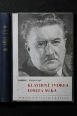 náhled knihy - Klavírní tvorba Josefa Suka : rozbory a výklad