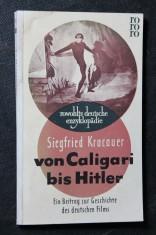 náhled knihy - Von Caligari bis Hitler. Ein Beitrag zur Geschichte des deutschen Films