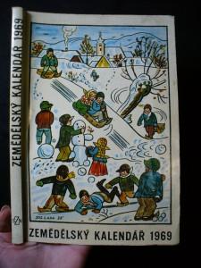 náhled knihy - Zemědělský kalendář 1969