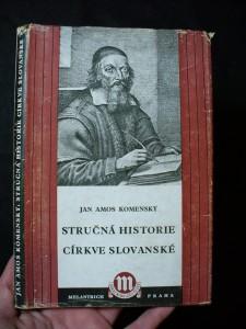náhled knihy - Stručná historie církve slovanské