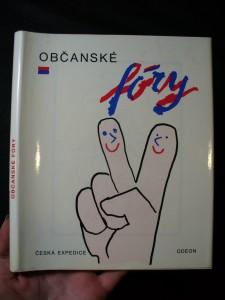 náhled knihy - Občanské fóry : pražský podzim 1989
