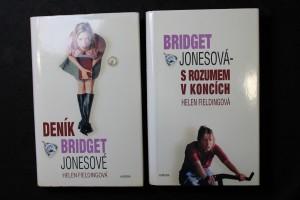 náhled knihy - Deník Bridget Jonesové. + Bridget Jonesová - S rozumem v koncích.