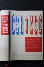 náhled knihy - ČSR a KSČ : Pamětní výpisy k historii Československé republiky a k boji KSČ za socialistické Československo