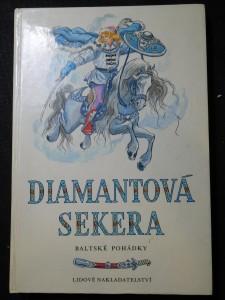 náhled knihy - Diamantová sekera : Baltské pohádky