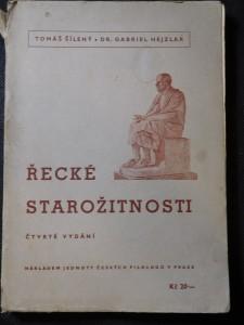 náhled knihy - Řecké starožitnosti