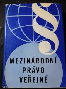 náhled knihy - Mezinárodní právo veřejné : Vysokošk. učebnice