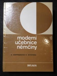 náhled knihy - Moderní učebnice němčiny : němčina pro hospodářskou praxi : celost. vysokošk. učebnice pro VŠE. [Díl] 1